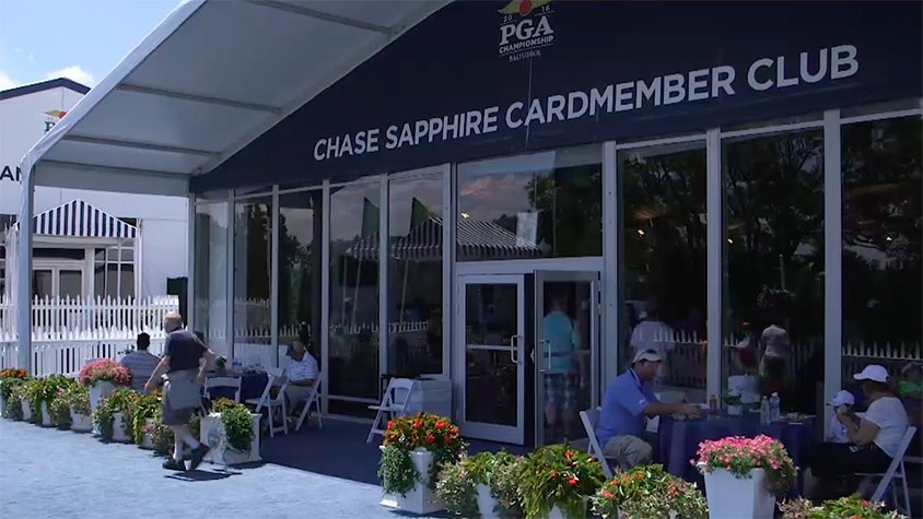 Chase clubhouse at the PGA Championship