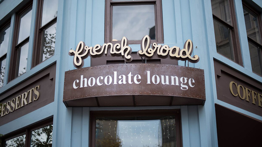 Exterior of French Broad Chocolates