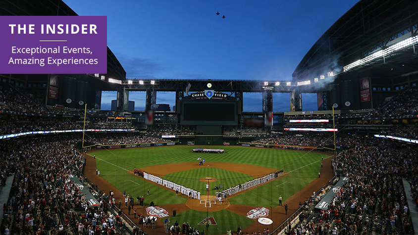 Opening Day 2015 at Chase Field