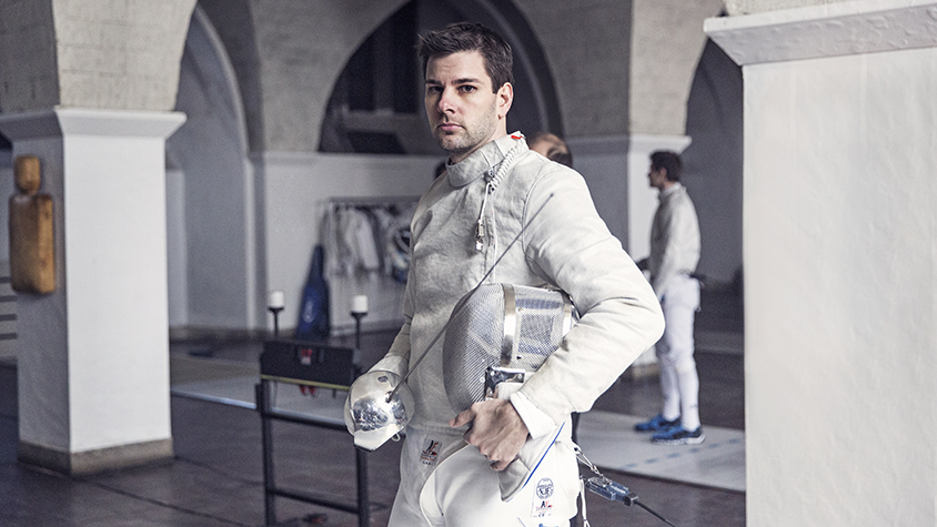 Fencer Tim Morehouse
