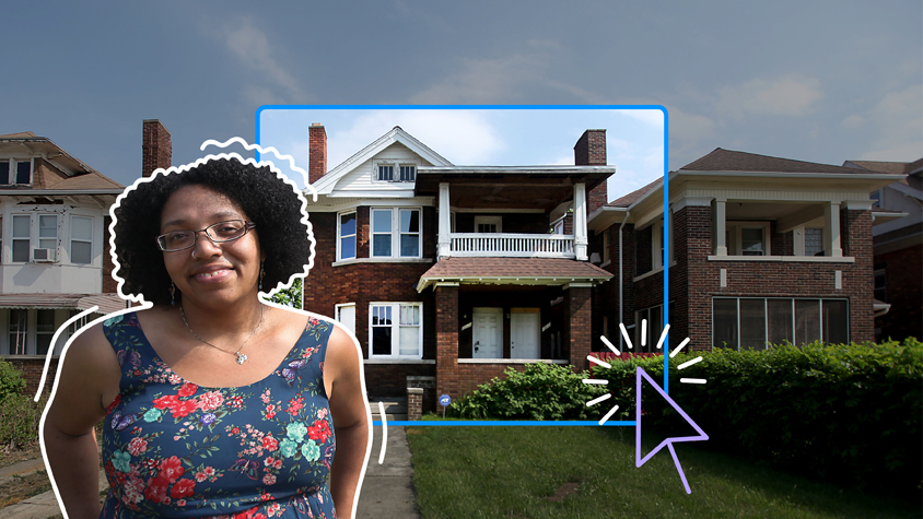 How this millennial woman bought a home on her own