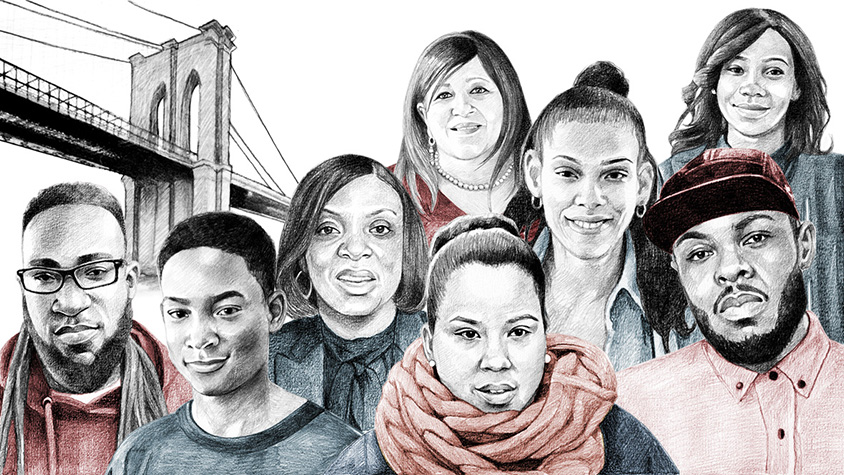 Illustration: Brownsville community leaders