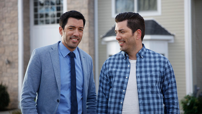Drew and Jonathan Scott of HGTV's