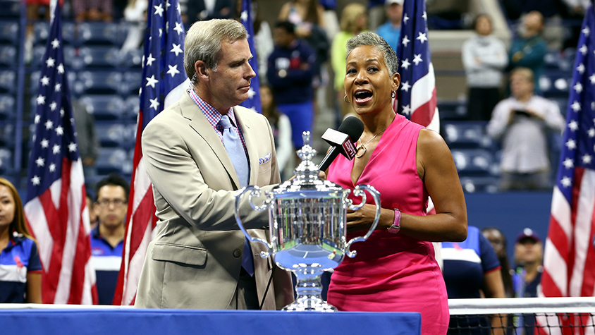 Katrina Adams at US Open