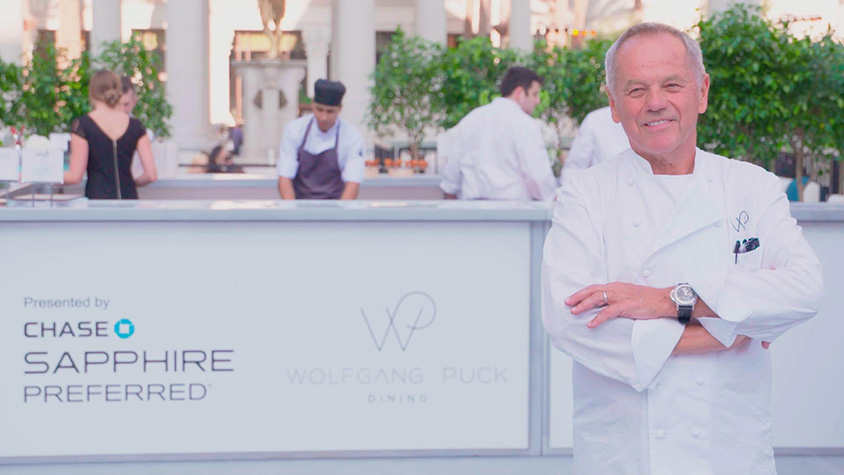 Chef Wolfgang Puck at Grand Tasting