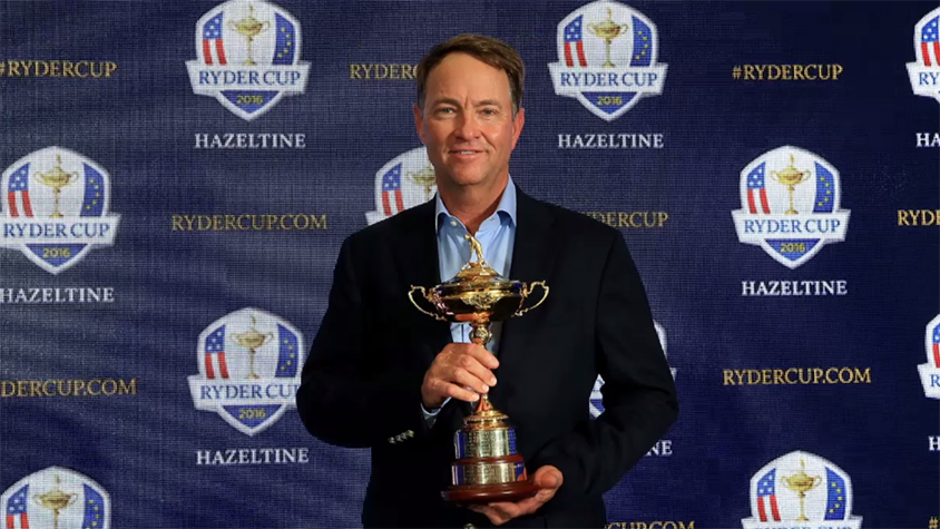 Davis Love III at a past Ryder Cup