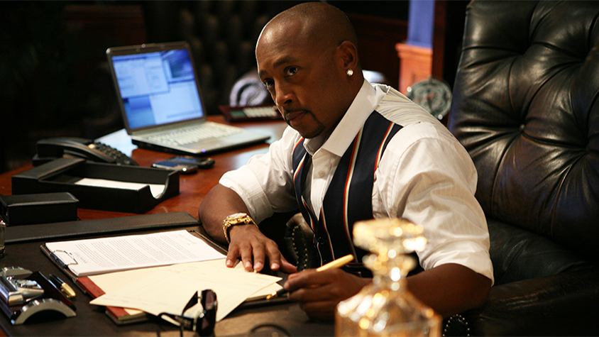 Daymond John in his office