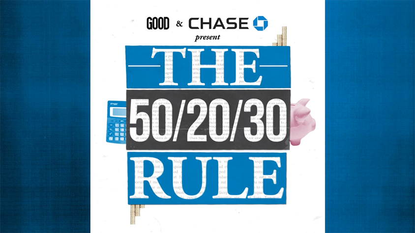 "Budgeting your money using the ""50/20/30"" rule"