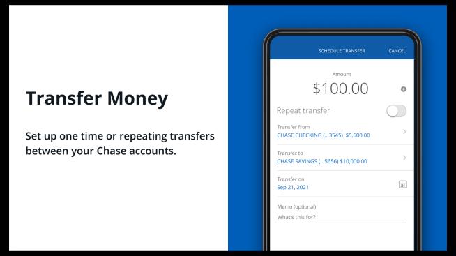 Transfer Money Helpful Tips Chase.com